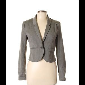 NWT H&M DIVIDED Cropped Blazer Jacket 8